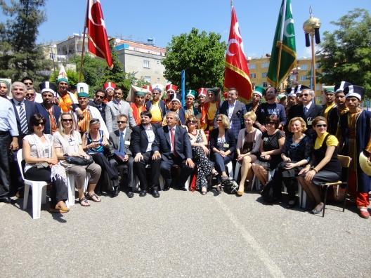 A török iskola delegációjával